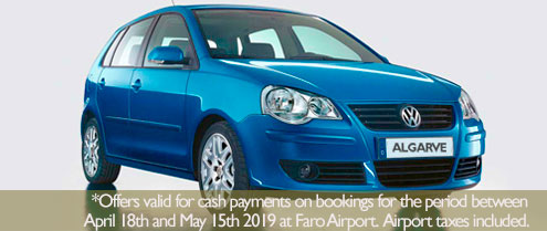 Special offer for Car hire in Lagos Algarve